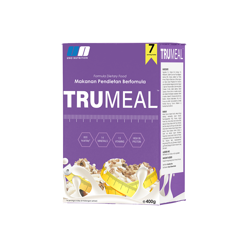 Formula for people want to loss their weight called Trumeal from Uno Nutrition
