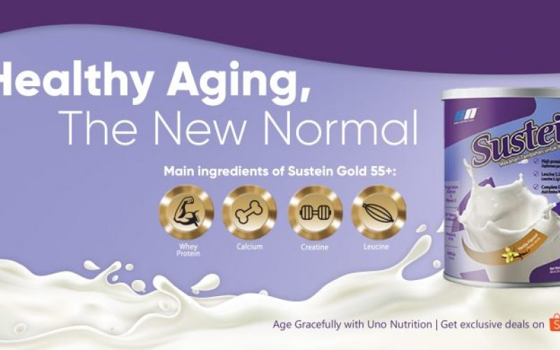 Sustein Gold 55+: Do not Be Afraid of Sarcopenia!