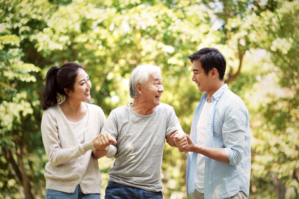 Recommended daily nutrition needs for the elderly